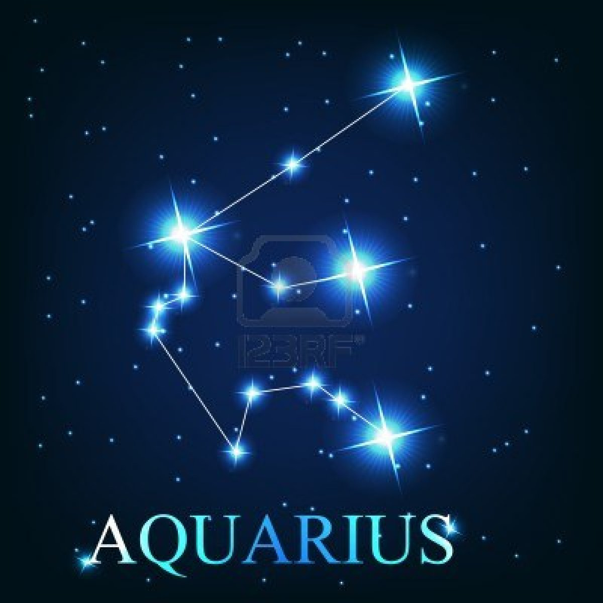 The Gallery For  &gt Aquarius Constellation Tattoo